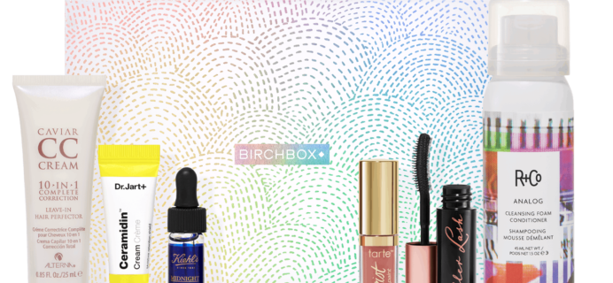 Birchbox April 2019 Curated Box Available Now in the Shop!