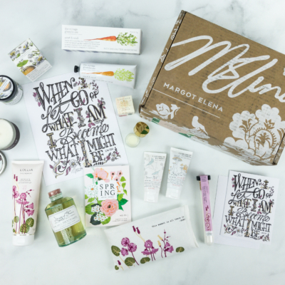Margot Elena Discovery Box Review – Spring 2019