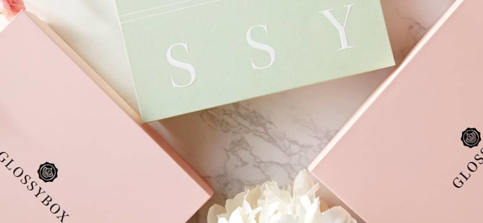 GLOSSYBOX April 2019 Spoiler #1 UPDATE + Coupon!