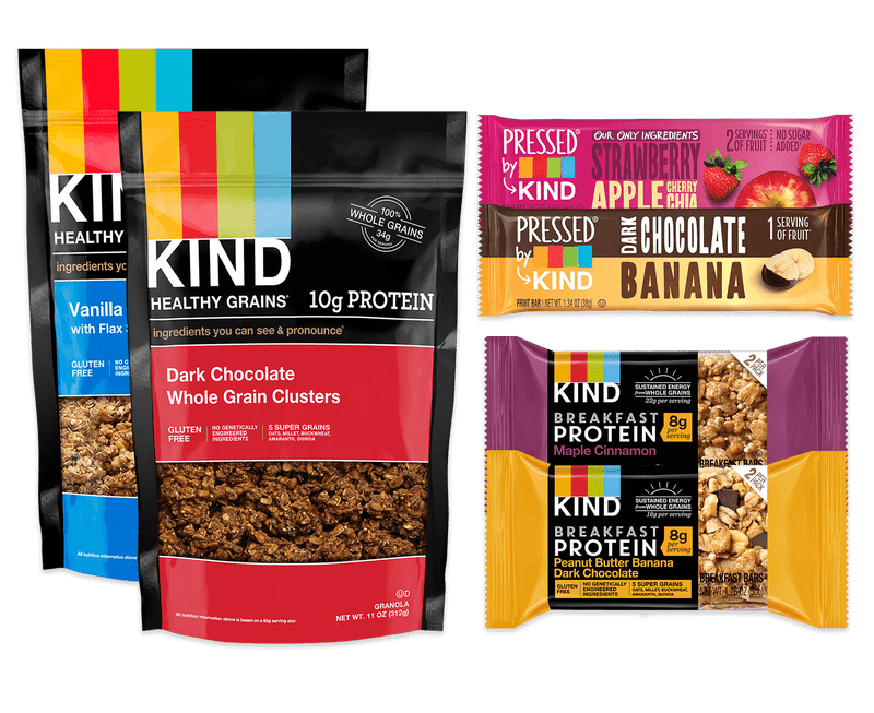 Kind Snack Club Snack Pack Vegan Variety Pack Available Now + 15% Off Coupon!