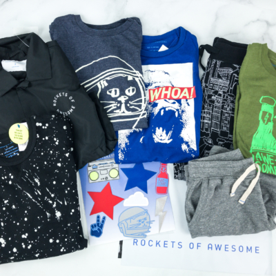Rockets of Awesome Spring 2019 Subscription Box Review – Big Boys!