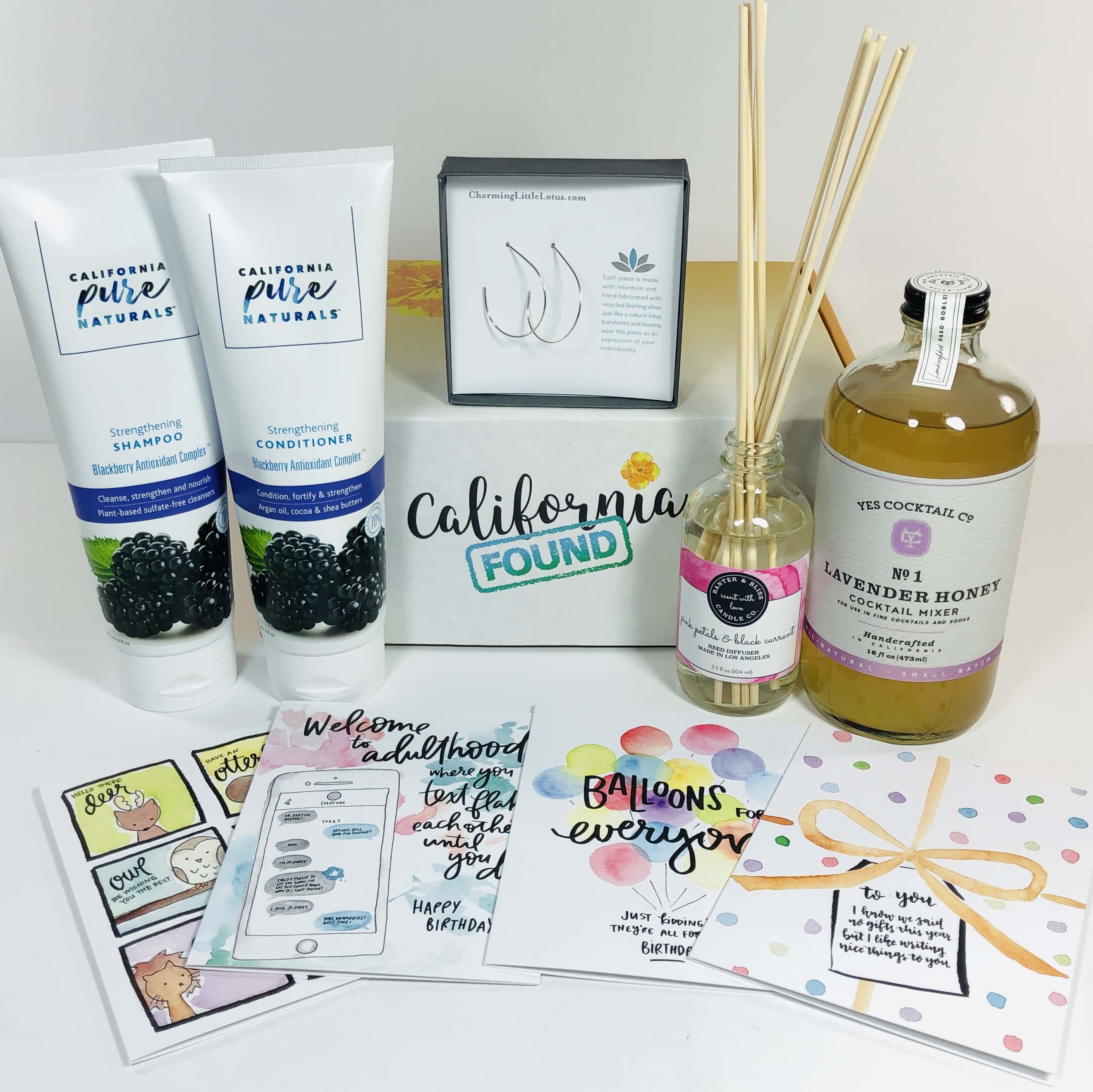 California Found March 2019 Subscription Box Review + Coupon