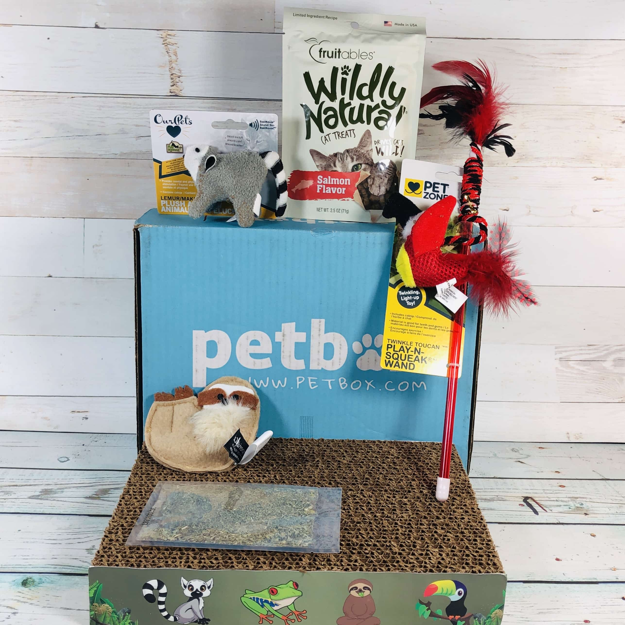PetBox CAT March 2019 Subscription Review & 50% Off Coupon