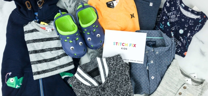 Stitch Fix Kids Review – Little Boys March 2019