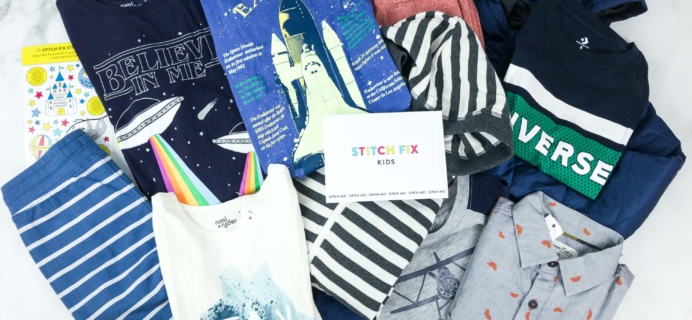 Stitch Fix Kids March 2019 Boys Review