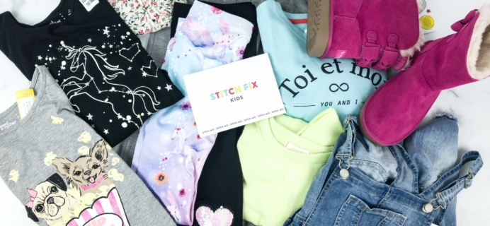 Stitch Fix Kids March 2019 Girls Review