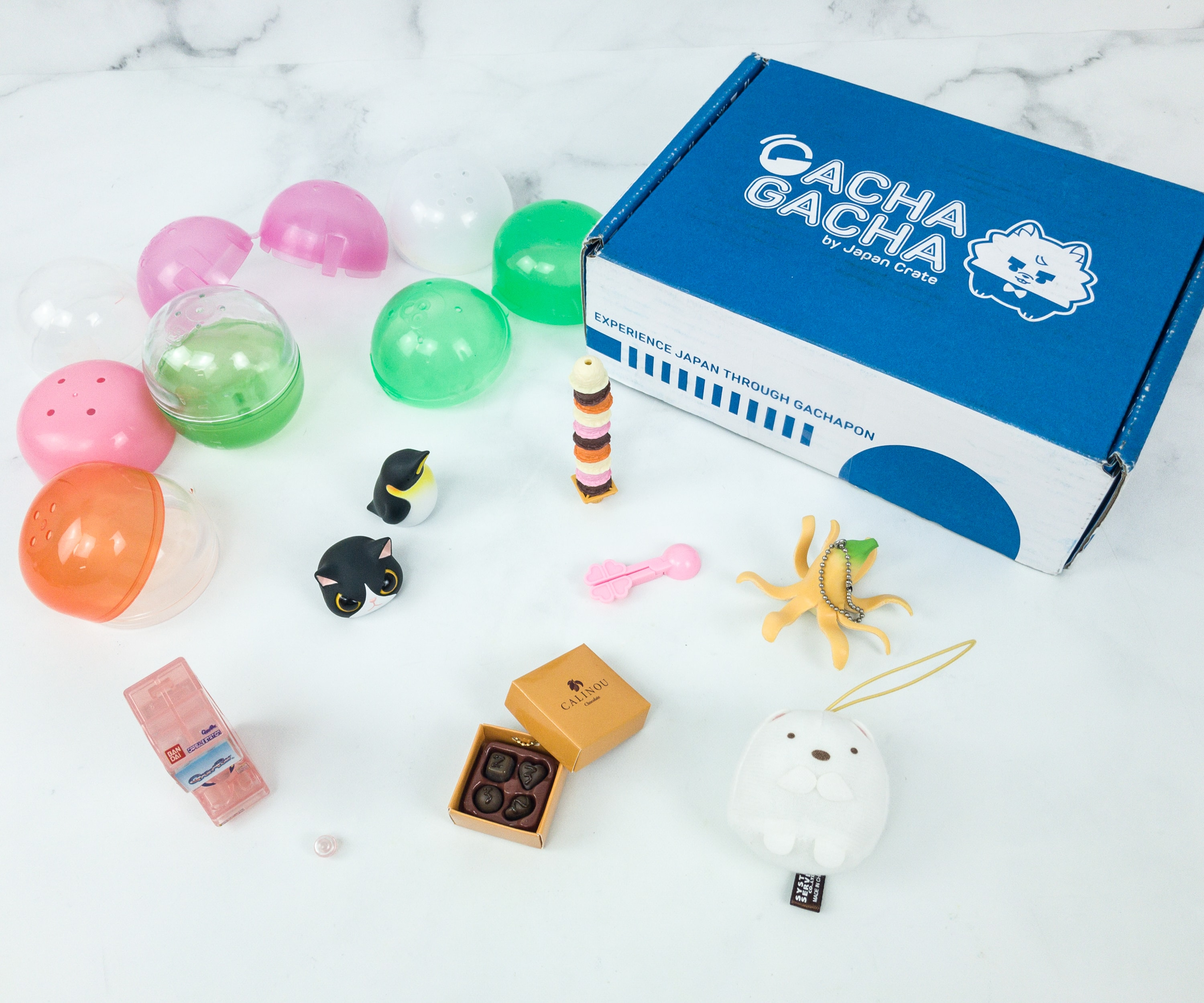Gacha Gacha Crate March 2019 Subscription Box Review + Coupon