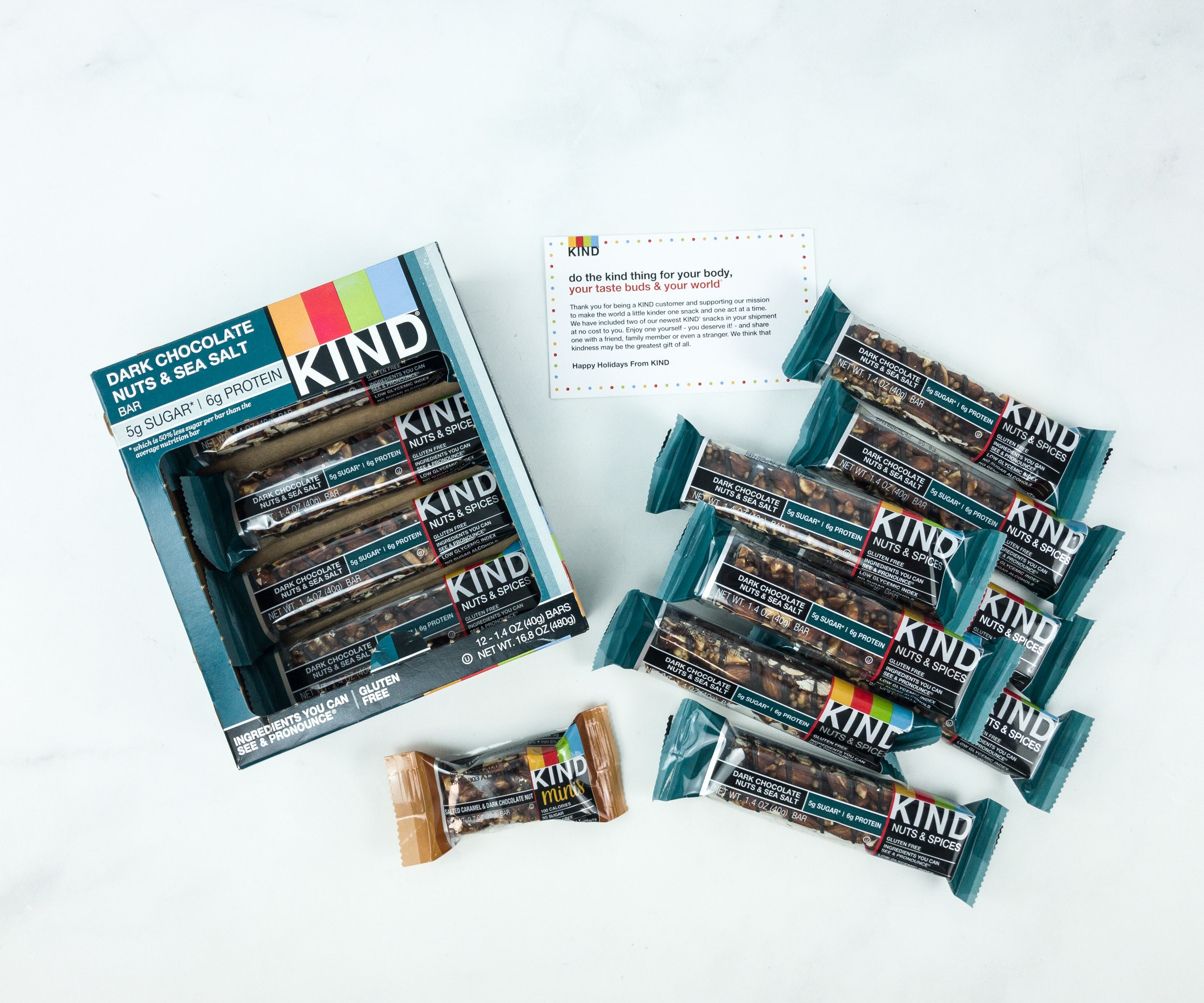 KIND Snack Club Subscription Box Review + $20 Off Coupon – Dark Chocolate Nuts & Sea Salt