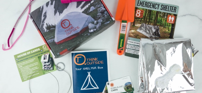 THiNK OUTSiDE BOXES Review – SHELTER BOX!
