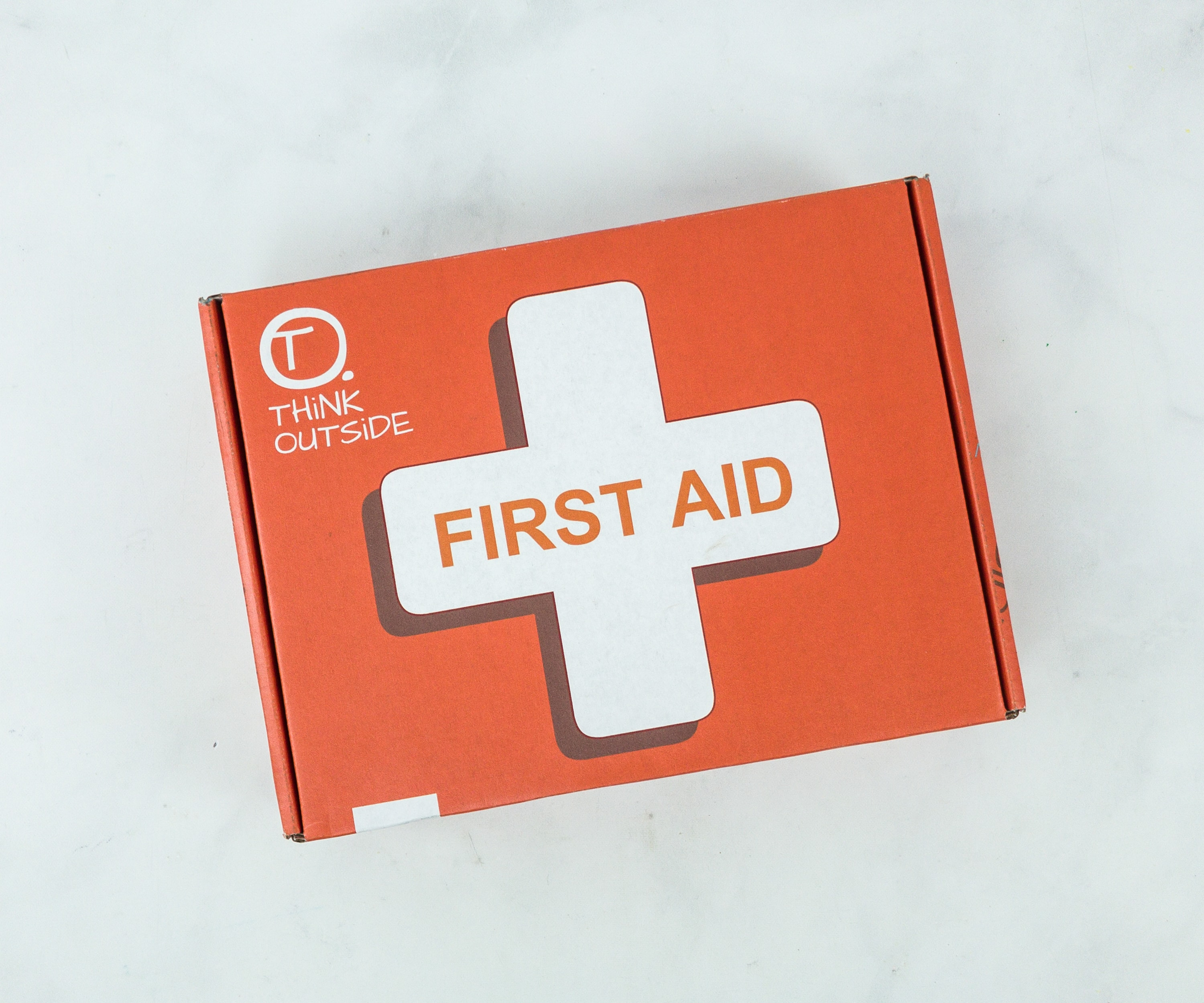 THiNK OUTSiDE BOXES Review – FIRST AID BOX!