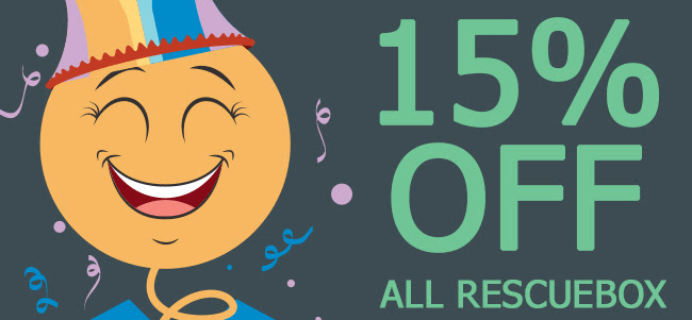 Rescue Box April Fool's Day Sale: Get 15% Off!