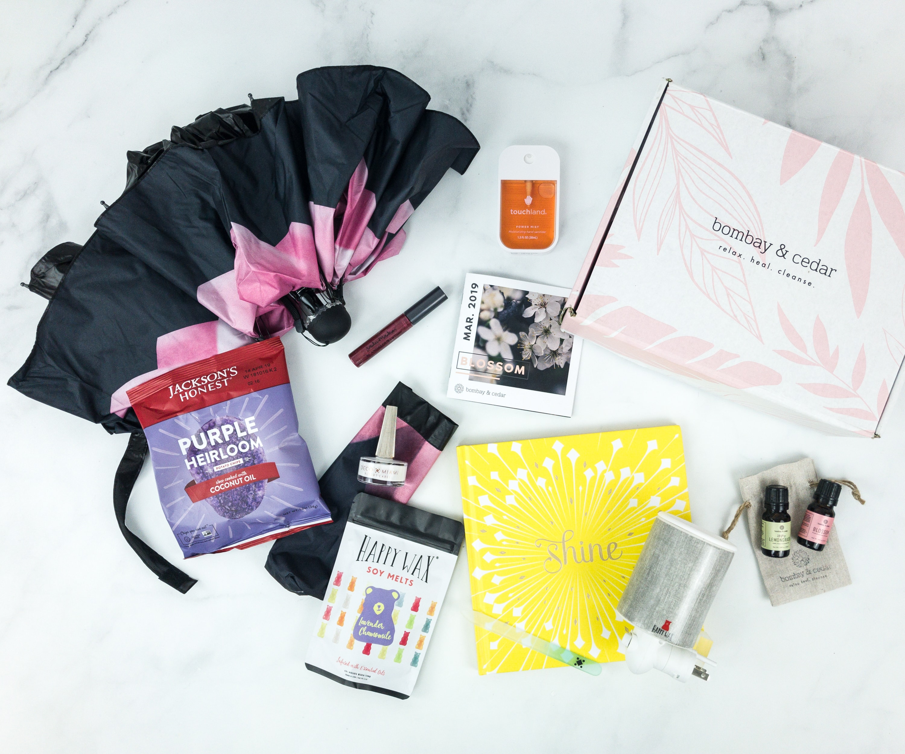 Bombay & Cedar March 2019 Subscription Box Review + Coupon