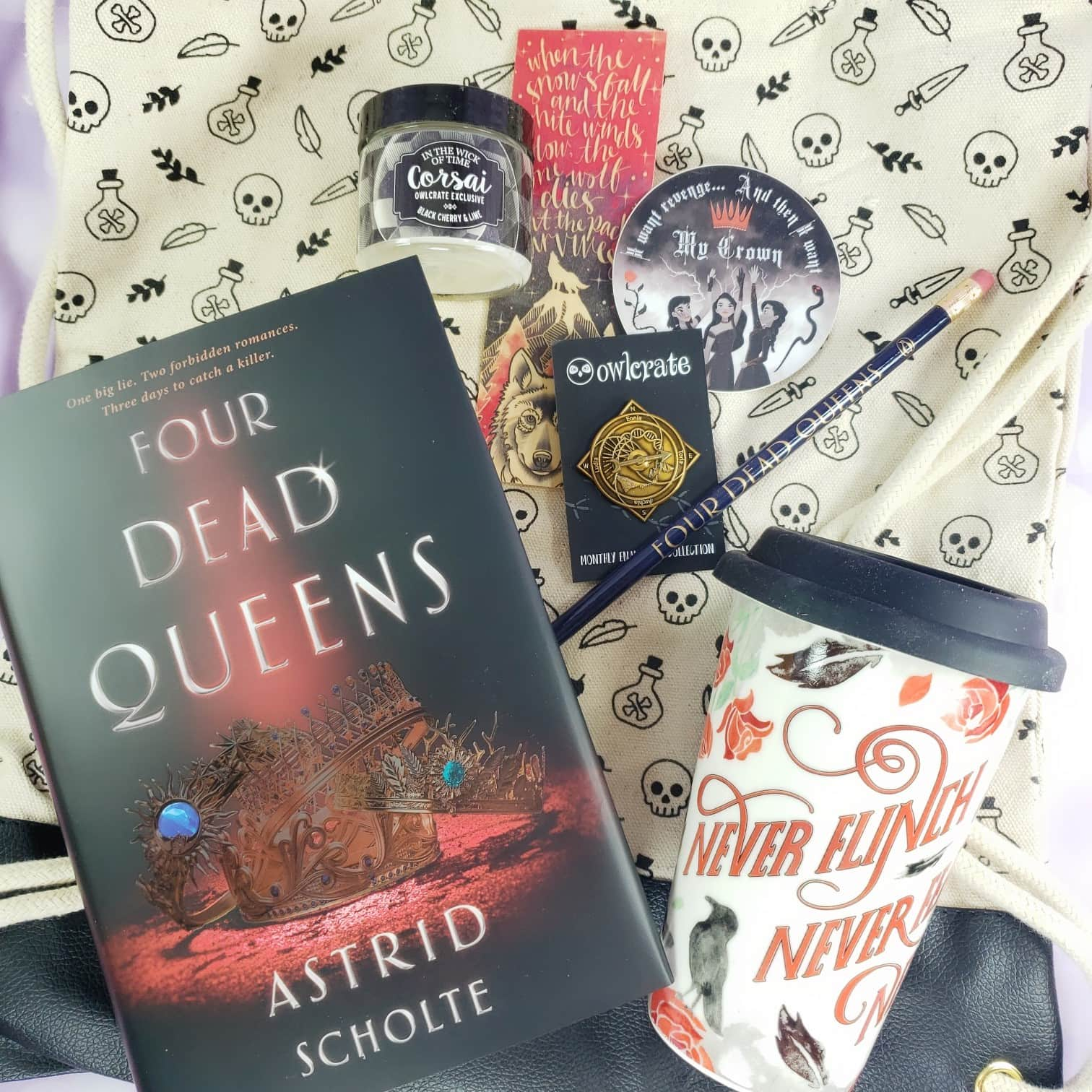 OwlCrate March 2019 Subscription Box Review + Coupon