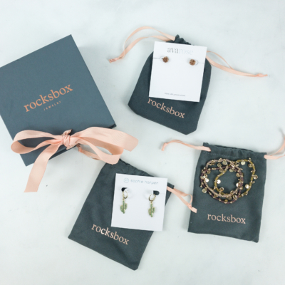 RocksBox March 2019 Review + FREE Month Coupon!