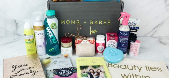 Moms + Babes Winter 2019 Subscription Box Review + Coupon – MOM BOX