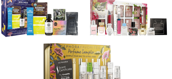 Three New Sephora Kits Available Now + Coupons