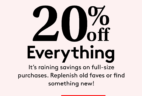 Birchbox Coupon: Get 20% Off Everything Including Subscriptions!