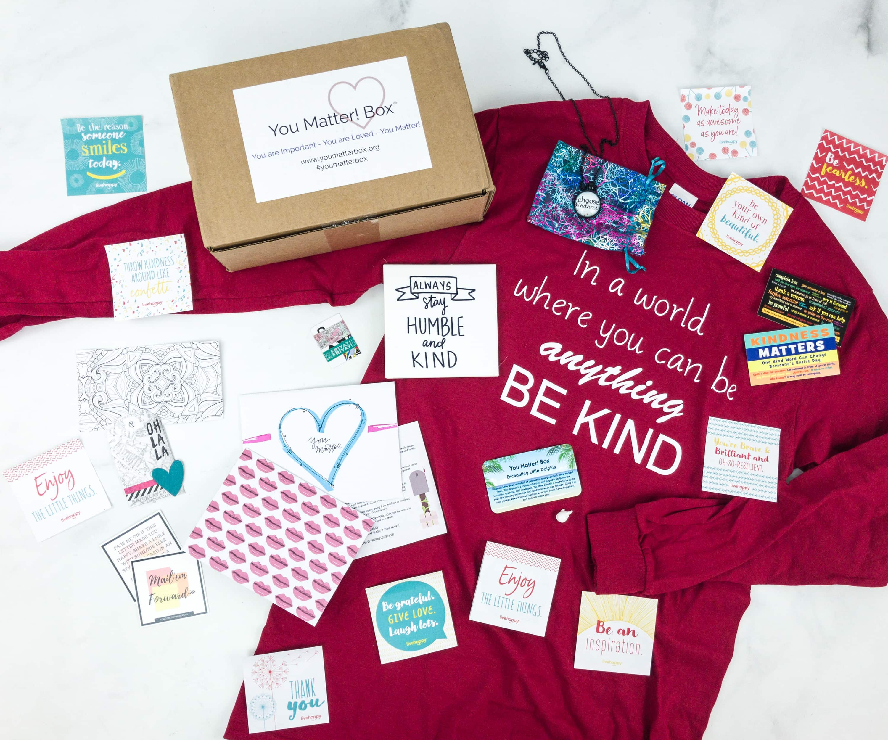 You Matter Box February 2019 Subscription Box Review