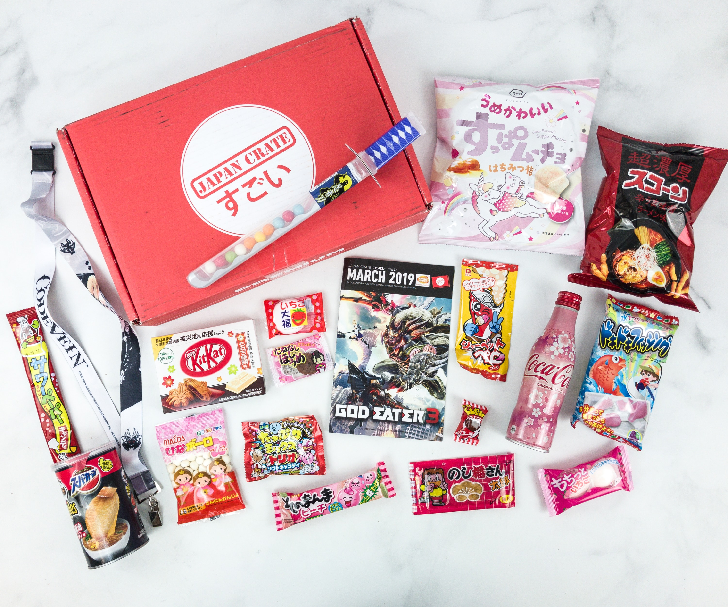 Japan Crate March 2019 Subscription Box Review + Coupon