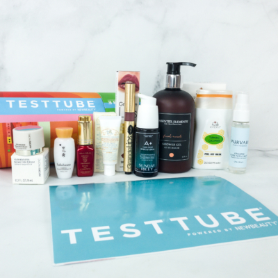 New Beauty Test Tube March-April 2019 Subscription Box Review