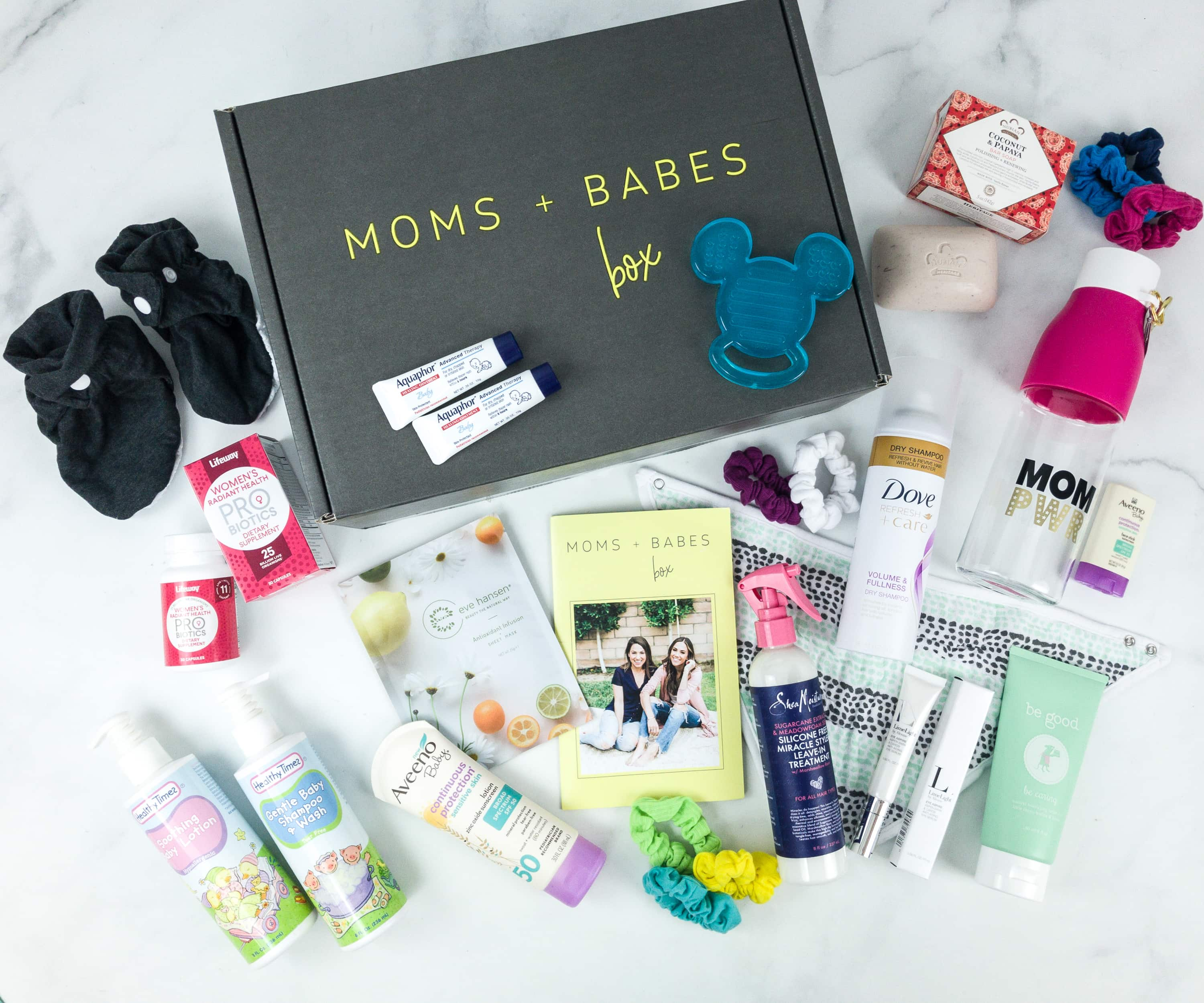 Moms + Babes Winter 2019 Subscription Box Review + Coupon – INFANT BOX