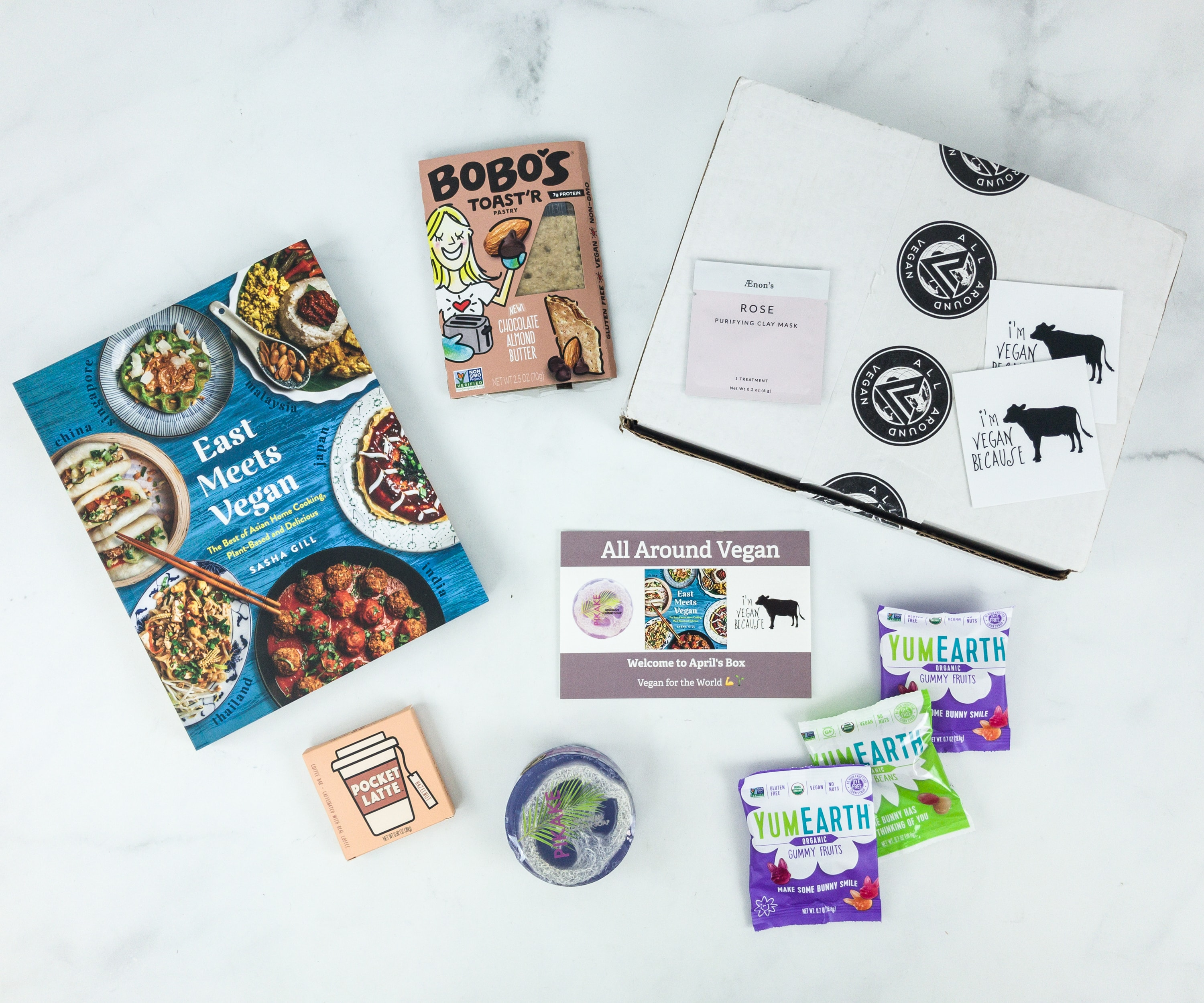 All Around Vegan Box April 2019 Subscription Box Review + Coupon