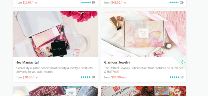Cratejoy Spring Treat Yourself Sale: Over 40 Subscription Box Deals!