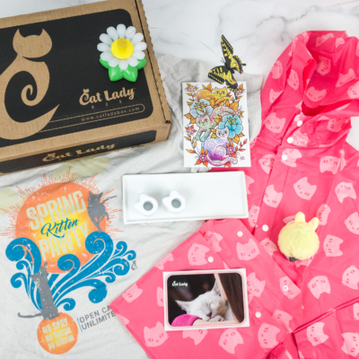 Cat Lady Box April 2019 Subscription Box Review + Coupon