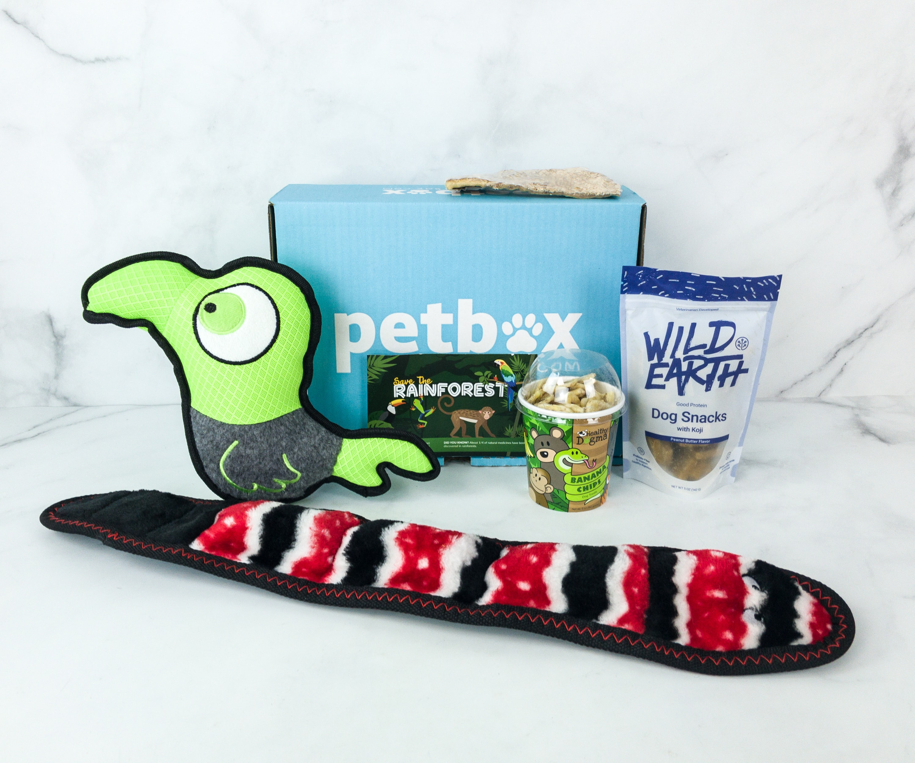 PetBox March 2019 Subscription Review & 50% Off Coupon Code – Large Dog