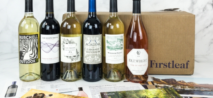 Firstleaf Wine Club April 2019 Subscription Box Review + Coupon