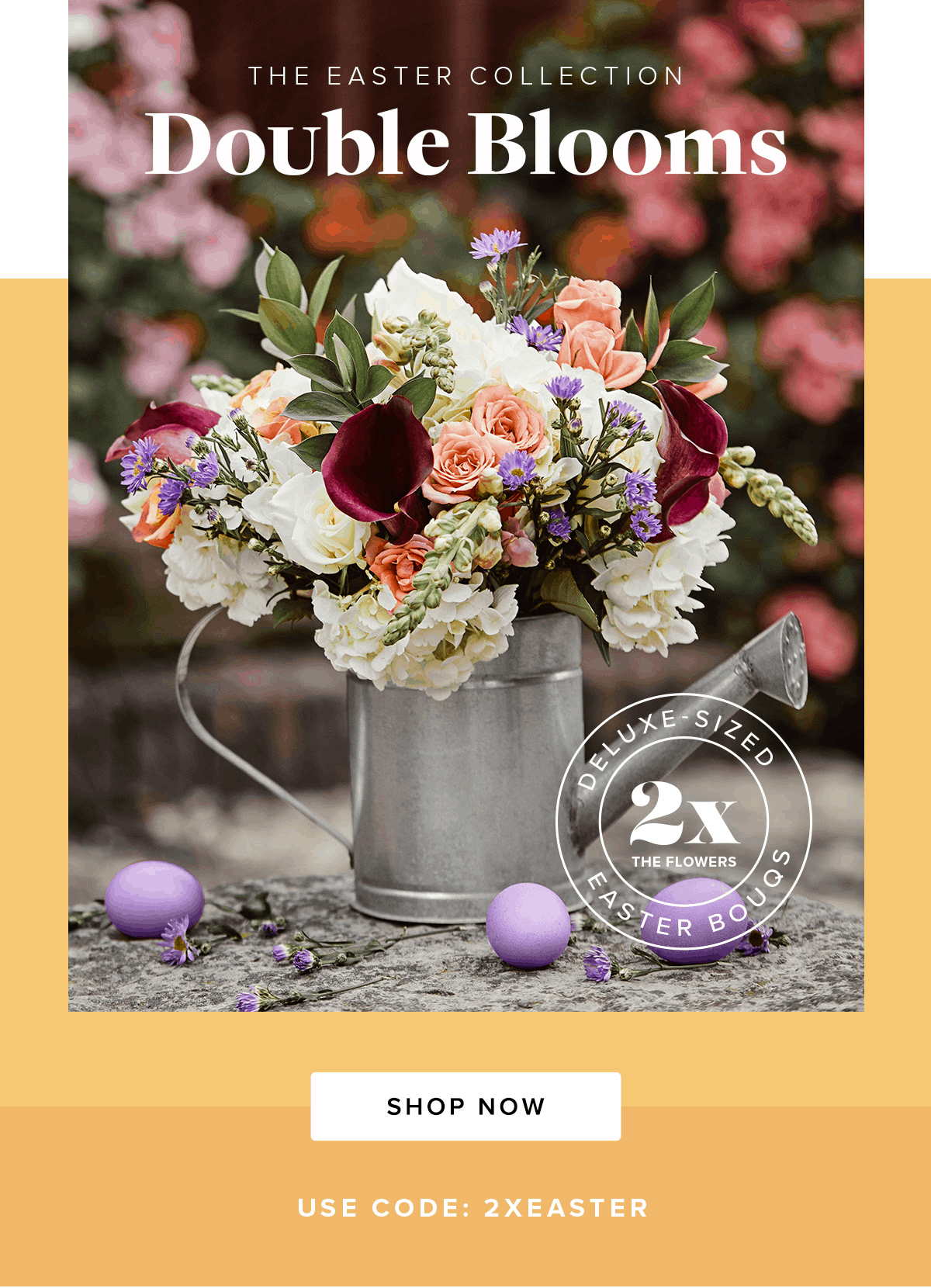 The Bouqs Easter Sale: Get Free Upgrade To Deluxe Size!