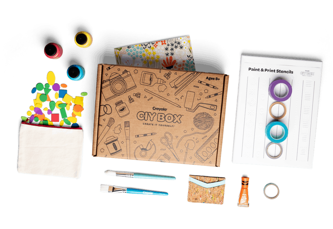 New Subscription Boxes: Crayola CIY Box Available Now + Coupon!