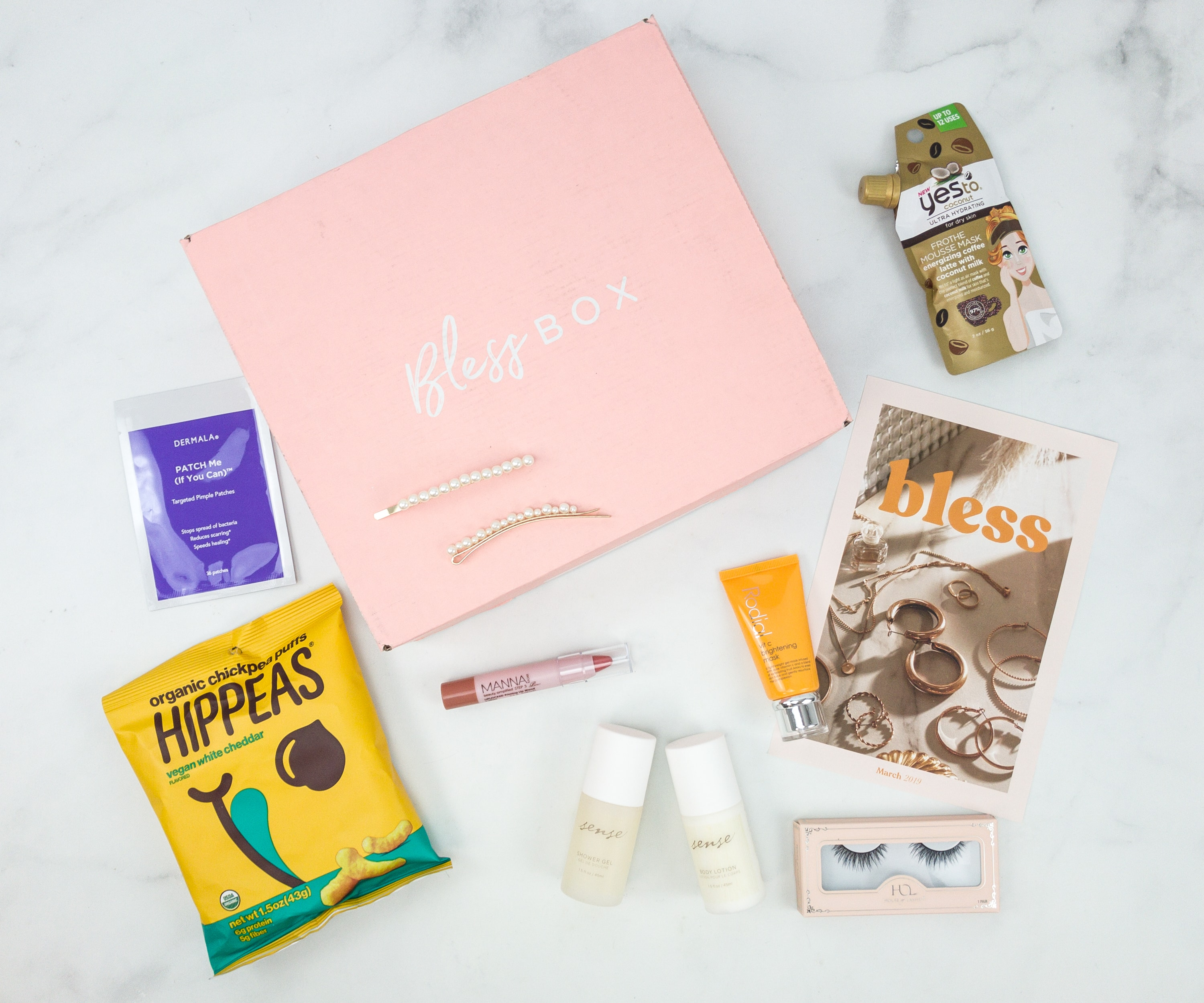 Bless Box March 2019 Subscription Box Review & Coupon