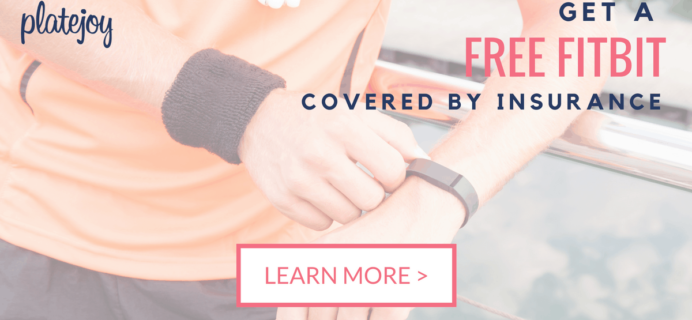 Platejoy Coupon: Get a FREE FitBit & More!