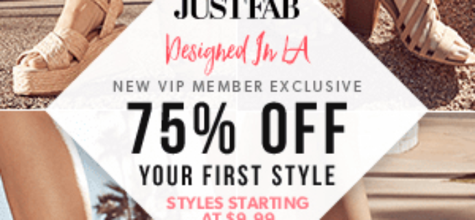 JustFab Coupon: Get 75% Off & More!