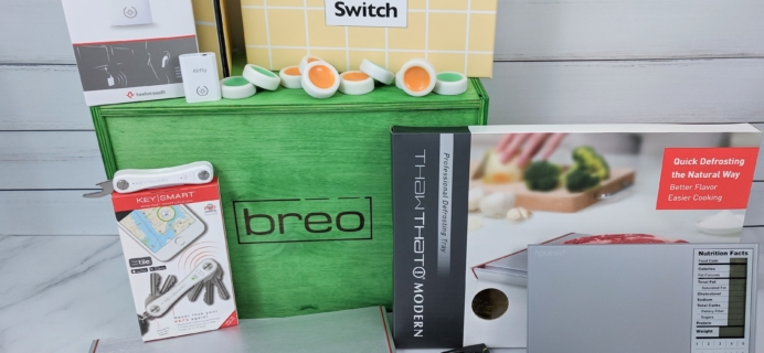 Breo Box Subscription Box Review + Coupon – Spring 2019
