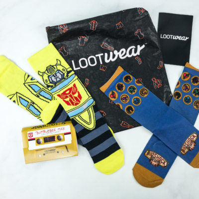 Loot Socks by Loot Crate February 2019 Subscription Box Review & Coupon