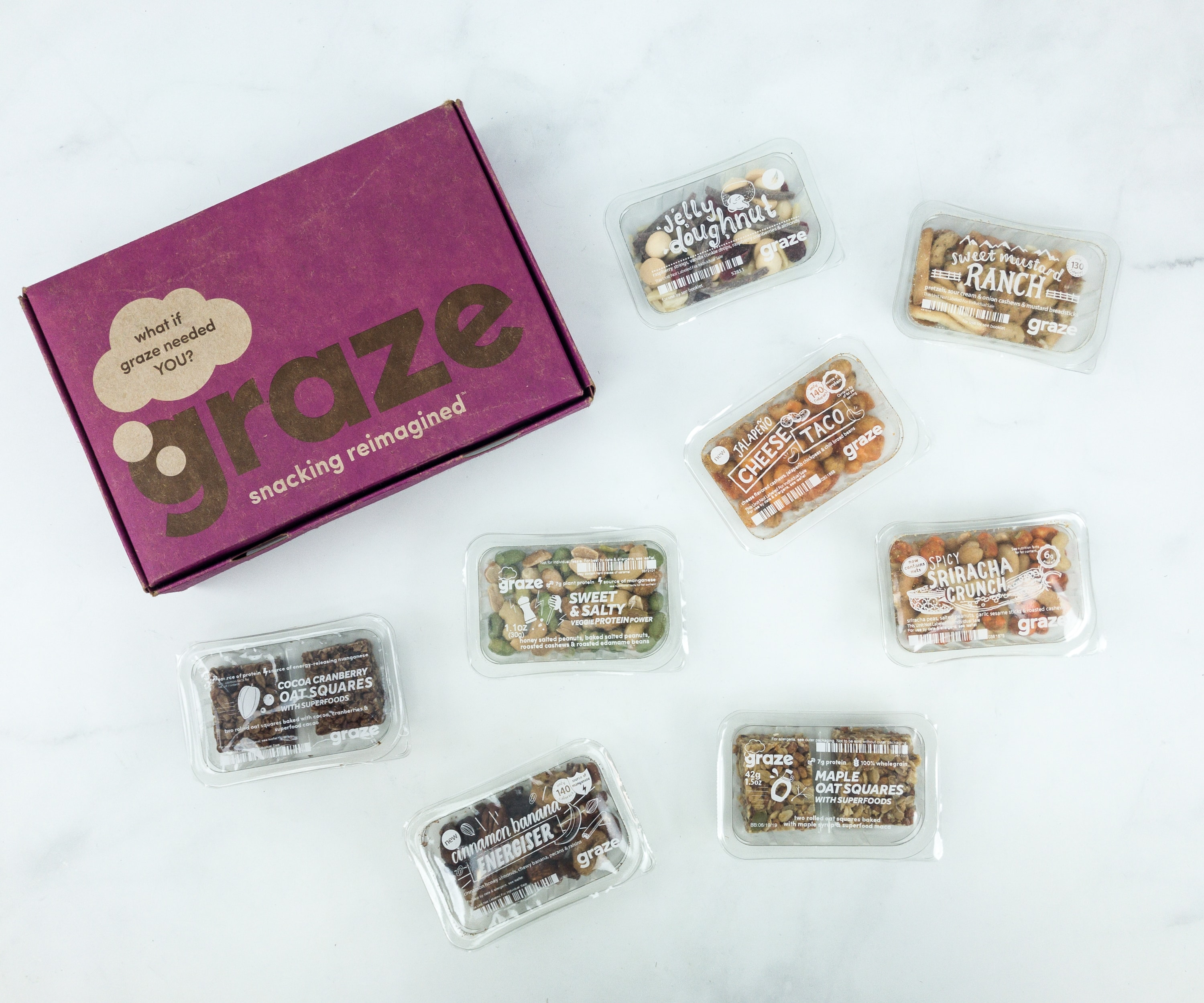 Graze Variety Box Review & Free Box Coupon – May 2019