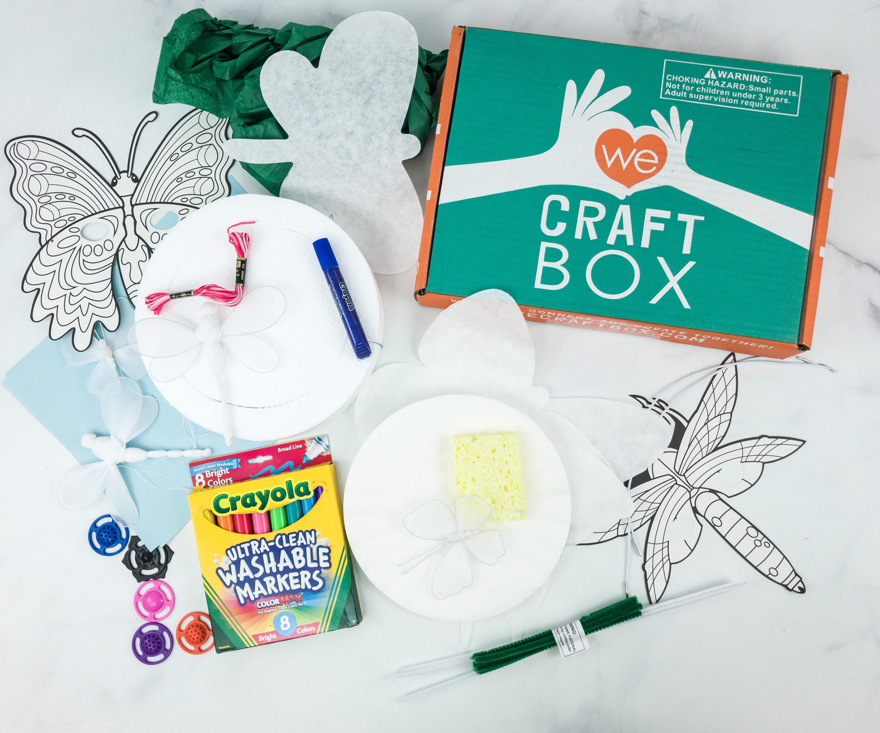 We Craft Box March 2019 Subscription Box Review + Coupons!