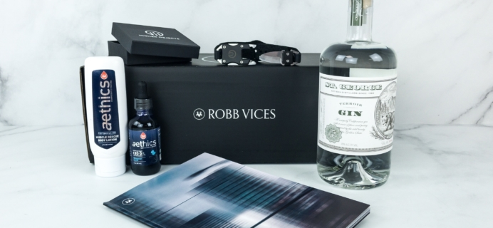 Robb Vices March 2019 Subscription Box Review + Coupon
