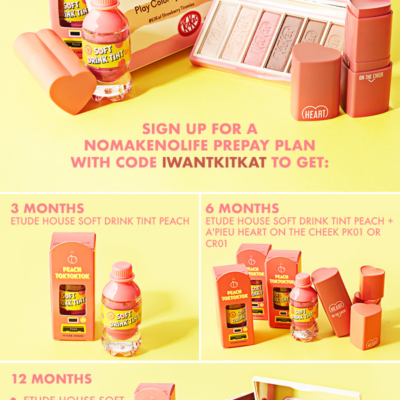 nmnl Coupon: Get FREE Beauty Goodies from Etude House!