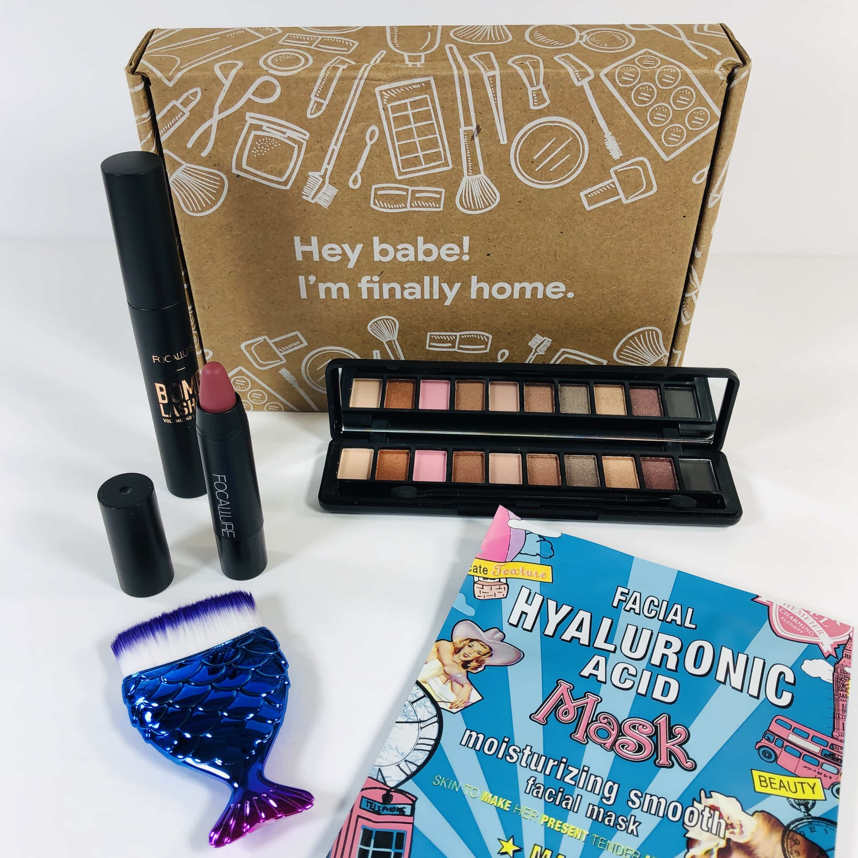 BabeBox by Focallure April 2019 Subscription Box Review