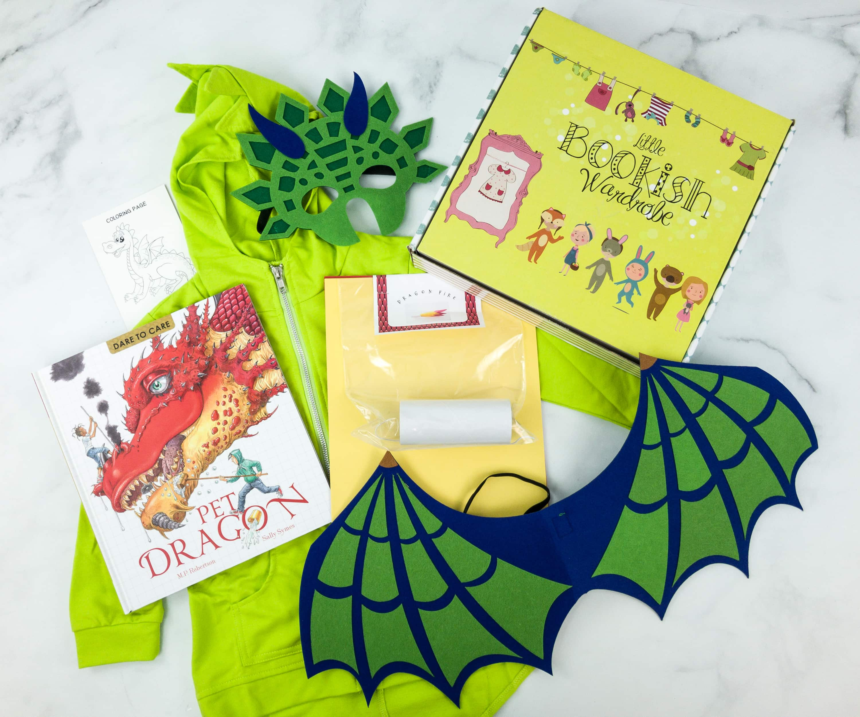 Little Bookish Wardrobe March 2019 Subscription Box Review + Coupon