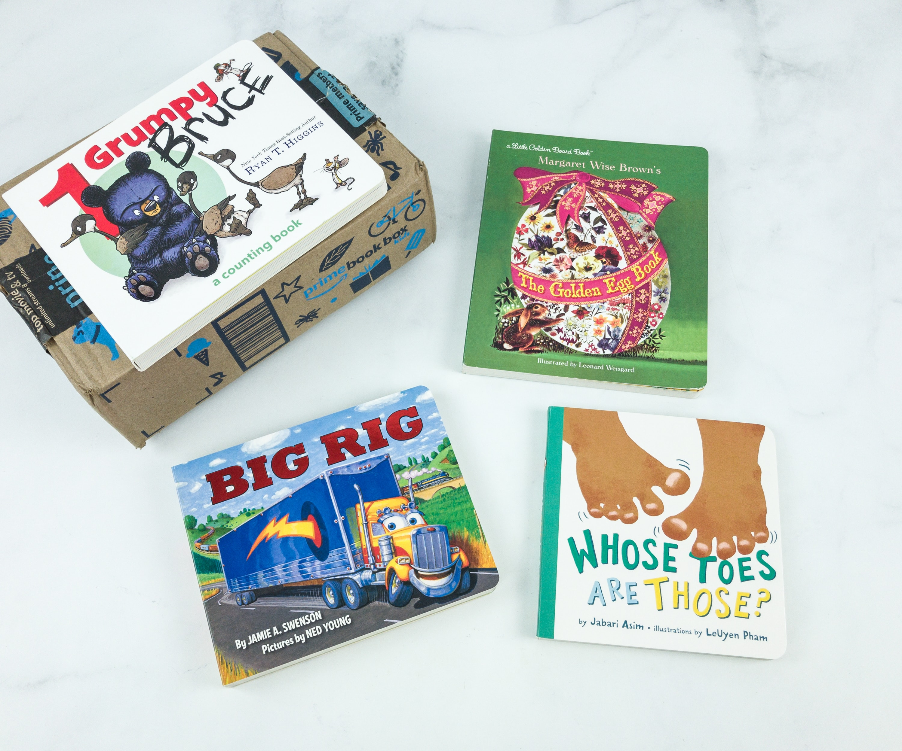 Amazon Prime Book Box Kids April 2019 Review – Baby to 2 Years