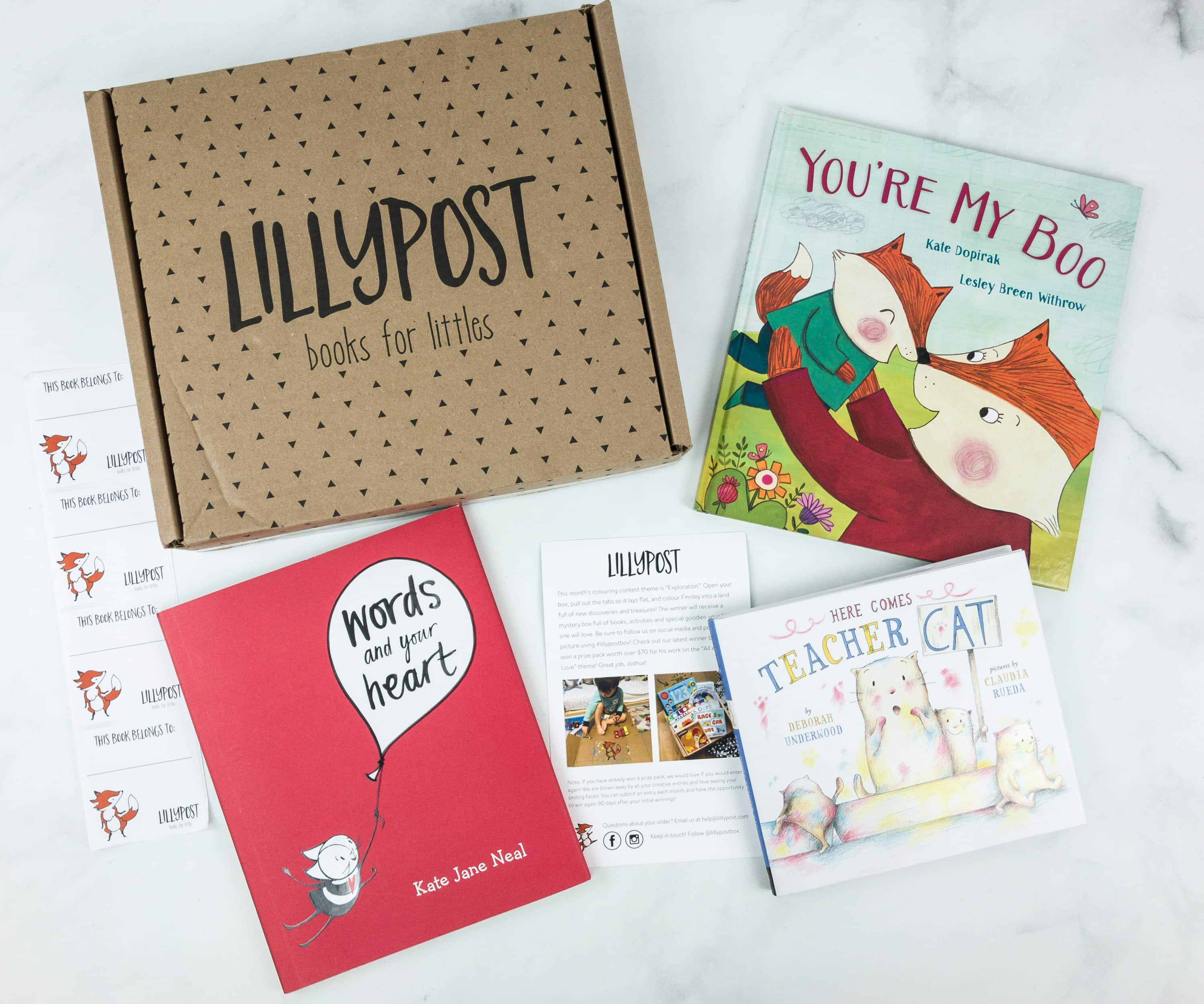 Lillypost April 2019 Board Book Subscription Box Review – PICTURE BOOKS