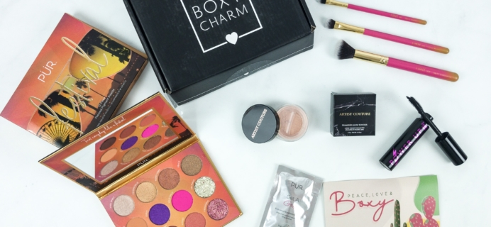 BOXYCHARM April 2019 Review