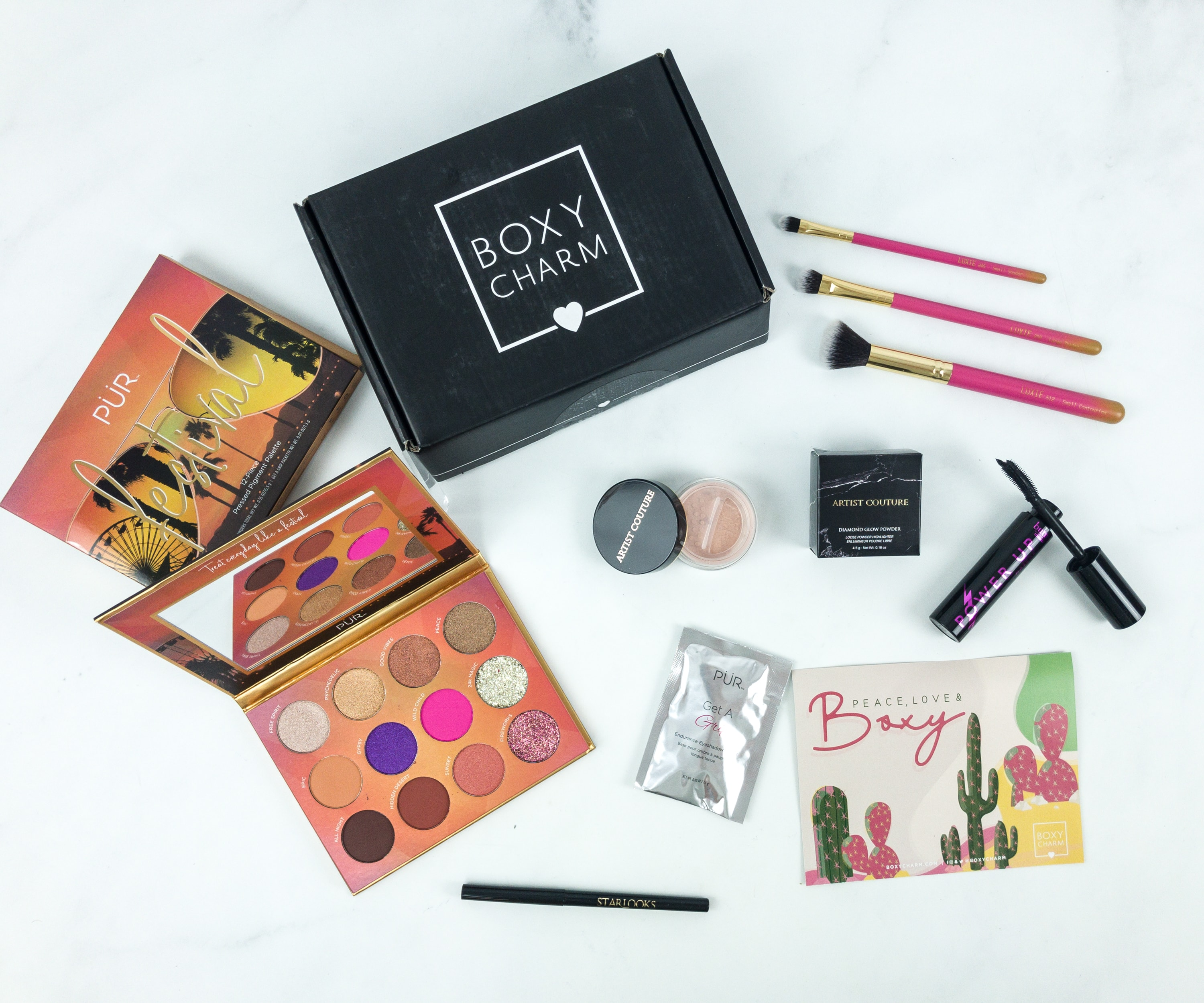 BOXYCHARM April 2019 Review - hello subscription