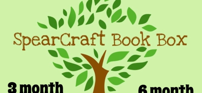 SpearCraft Book Box Coupon: Get 15% Off 3+ Month Subscriptions!