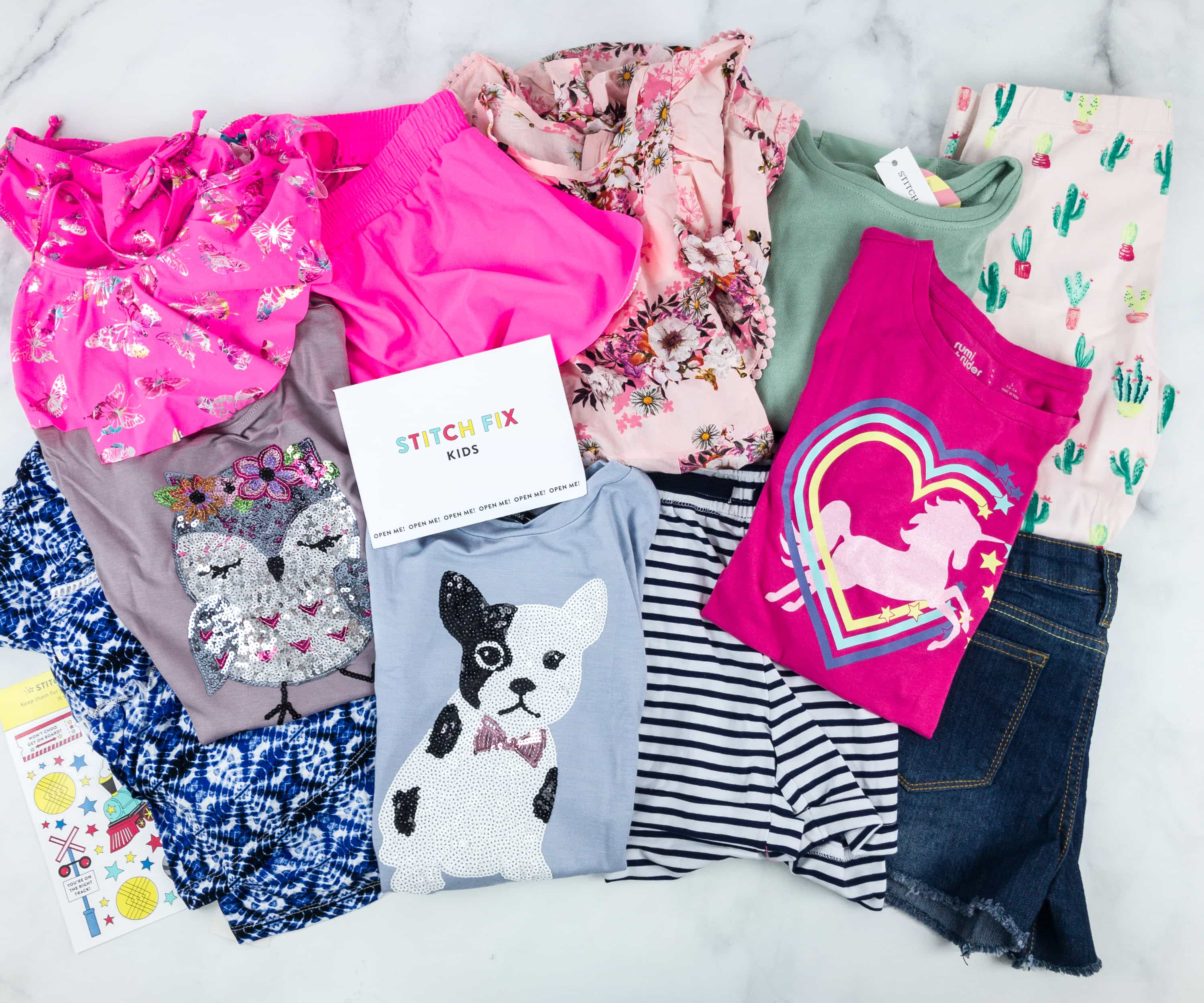 Stitch Fix Kids April 2019 Girls Review