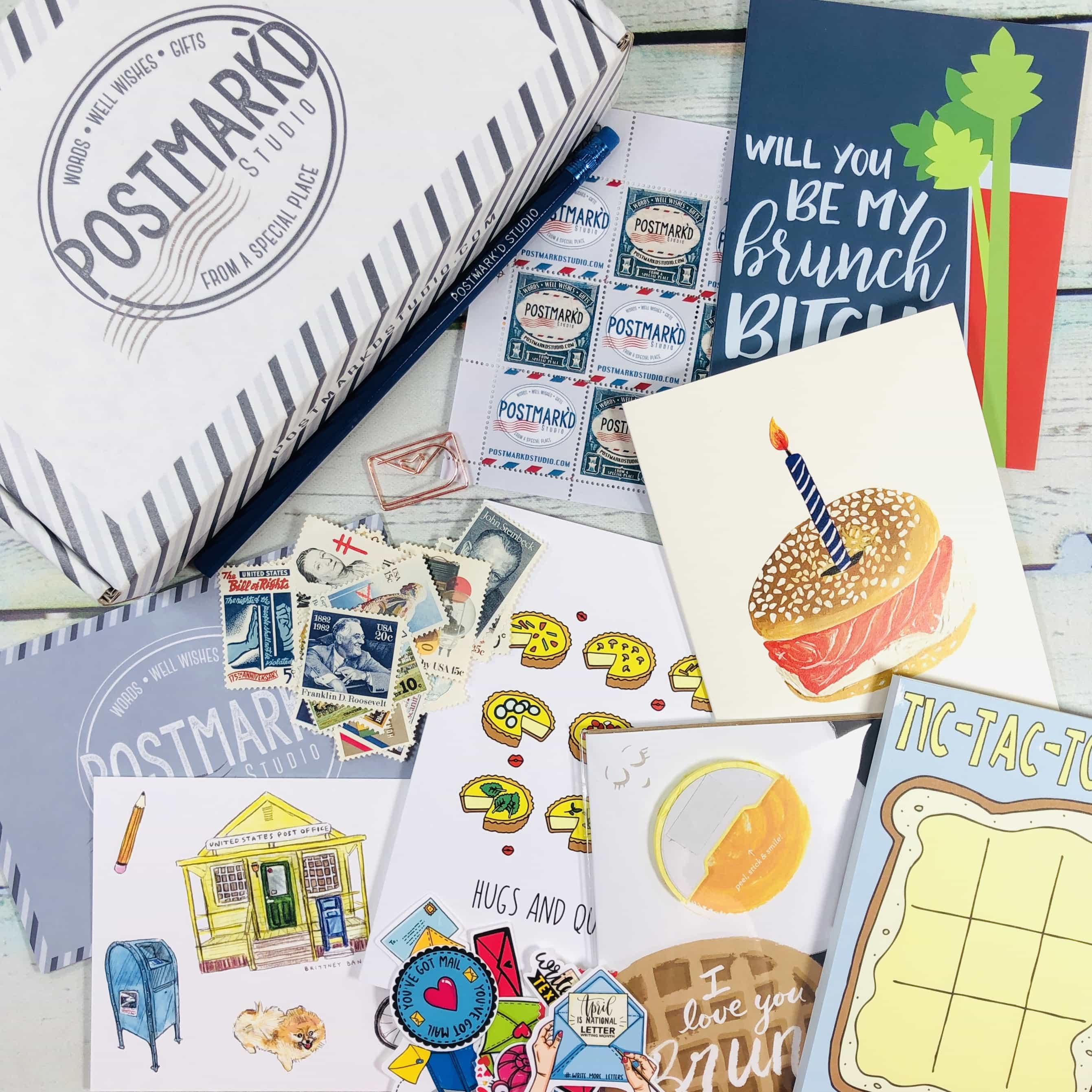 PostBox Subscription Box Review + Coupon – April 2019